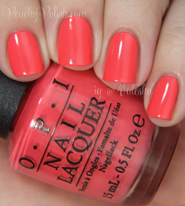OPI: Spring/Summer 2014 Brazil Collection Swatches & Review | Peachy Polish | Bloglovin'