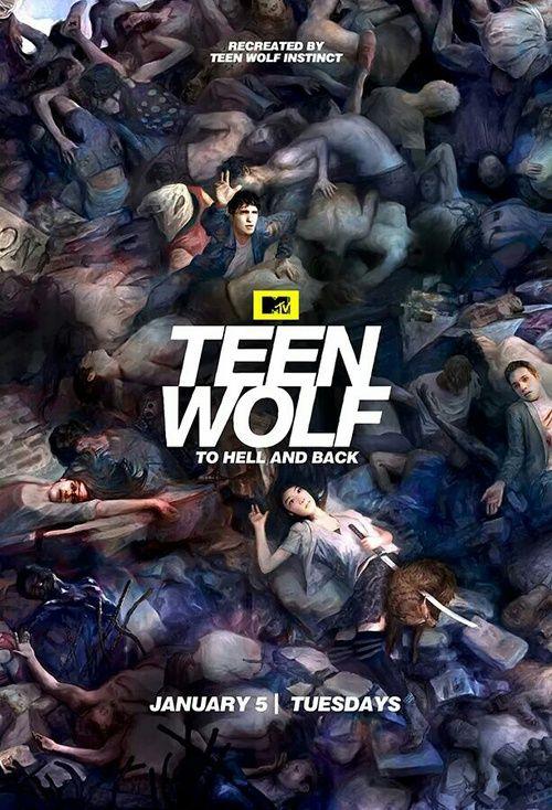 #TeenWolf  #season5b poster