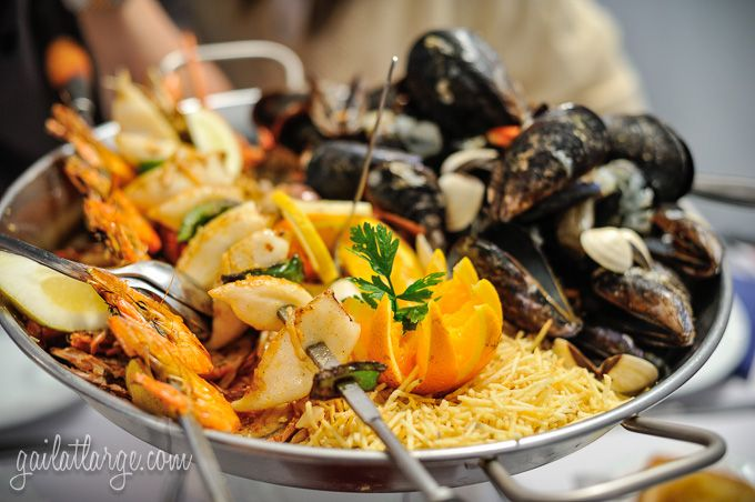 seafood at 7 Mares (Matosinhos, Portugal)