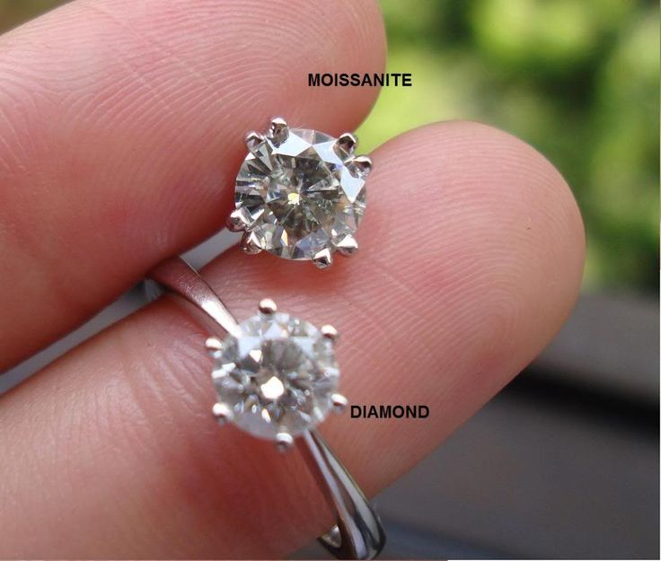 Moissanite Engagement Rings Vs Diamond