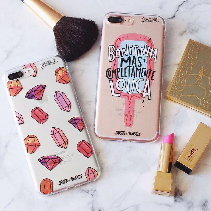 AVISO AOS NAVEGANTES: Hoje lança no Brasil o #iphone7 e o #iphone7plus!  Que tal aproveitar nosso NOVEMBRO BLACK e adquirir logo as roupinhas do seu novo iPhone? #ficaadica  {cases: pedras preciosas e bonitinha} [NA COMPRA DE DUAS GOCASES VOCÊ GANHA 50% OFF NA TERCEIRA]  #gocasebr #instagood #iphonecase #phonecase #makeup #pink #diamonds #sigaosbaloes #blcknov #gocaseblack