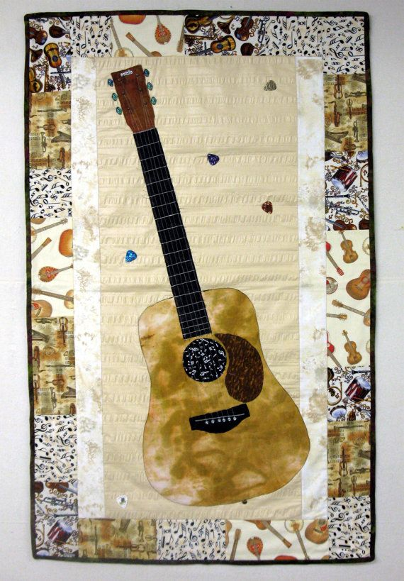 1000 Images About Quilts Guitar On Pinterest Electric