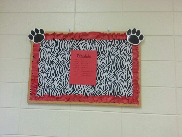 Zebra Classroom Decor ~ Best red and black classroom images on pinterest