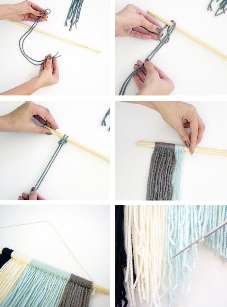 DIY Yarn Wall Hanging Tutorial - MichellePhan.com – MichellePhan.com