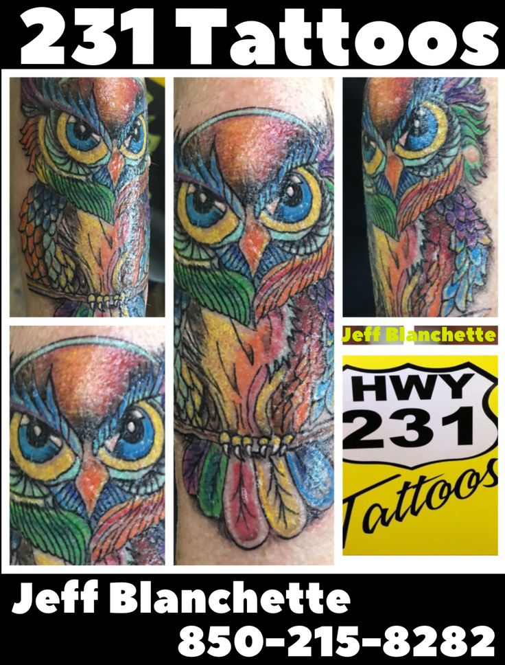 231 tattoos panama city florida by jeff blanchette 850