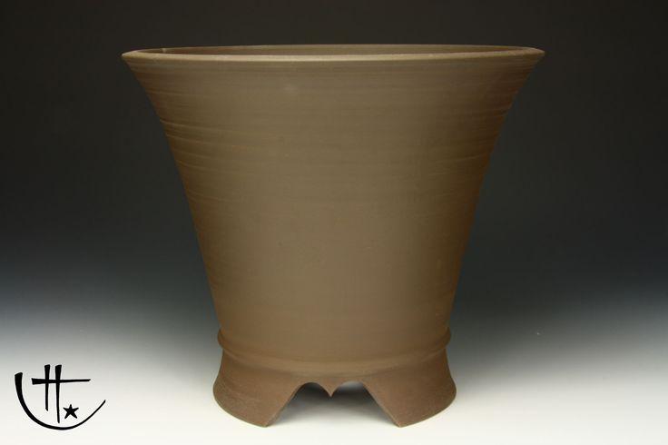 """Ø 27,2 cm / 10.7"""" Kaskadenschale Bonsaischale Cascade Bonsai Pot Roman Husmann 6754"""