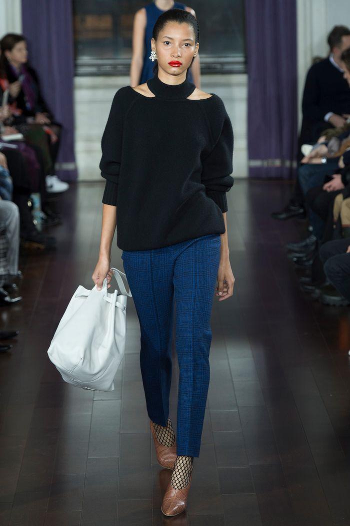 Модные брюки коллекция осень-зима 2017-2018 Jason Wu