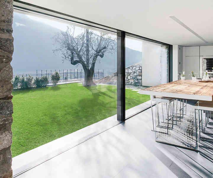 die besten 25 bodentiefe fenster ideen auf pinterest. Black Bedroom Furniture Sets. Home Design Ideas