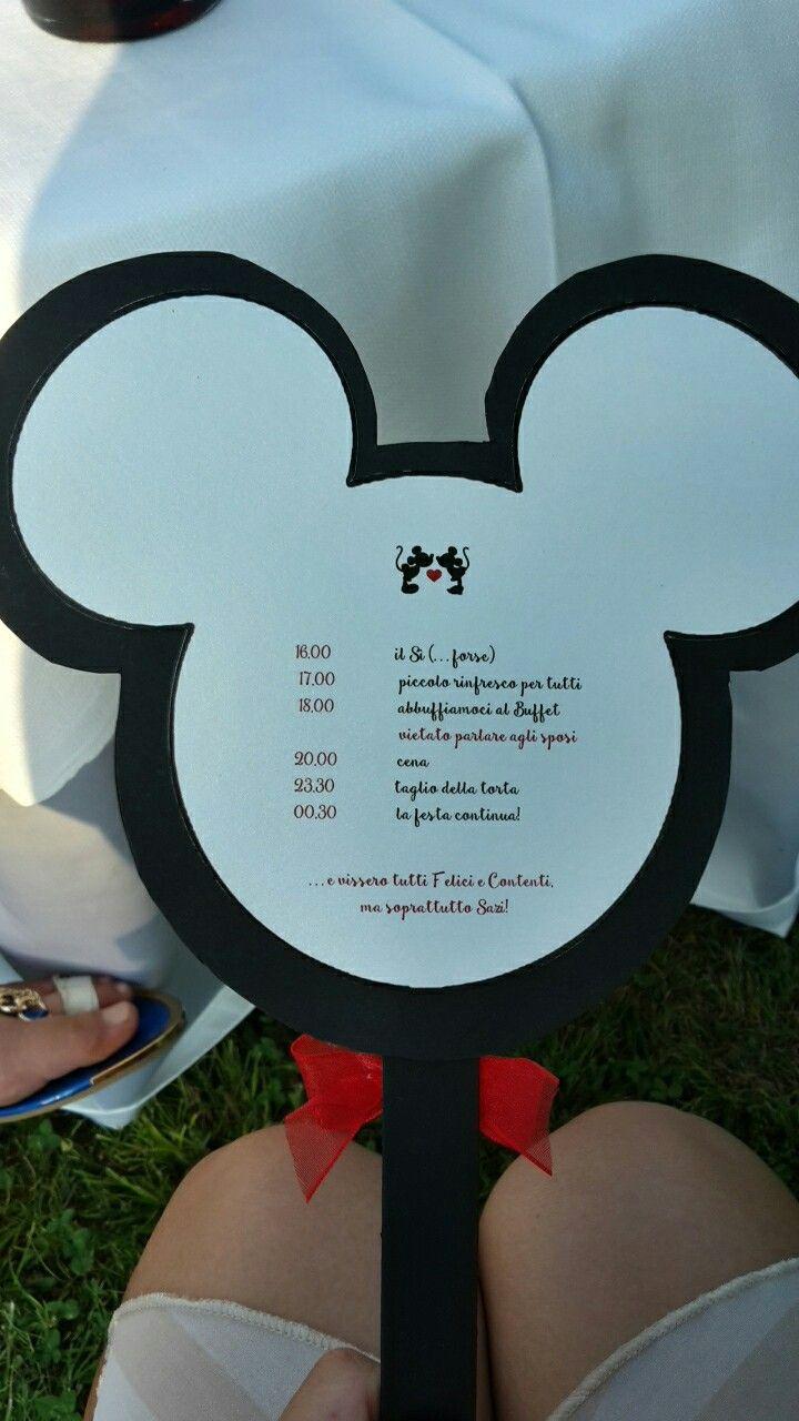 Retro programma ventaglio Disney