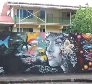 Les murs colorés de l'école Saint-Paul-Sainte-Thérèse (photos)