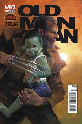 A Newbury Comics exclusive variant cover comic. (W) Brian Michael Bendis (A) Andrea Sorrentino (CA) Gabriele Dell Otto Enter the Wastelands...a realm where all heroes have been murdered by their arch-