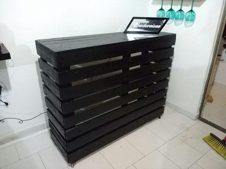 Barra o bar con Palets estibas reciclado DIY