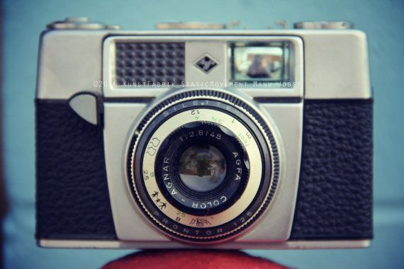 Old Agfa Camera Original Art Photograph by by StaticMovement