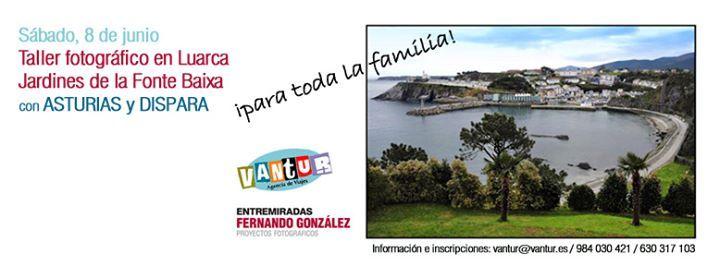 Viaje y taller fotográfico a los Jardines de la Fonte Baixa en Luarca.