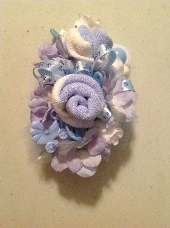 Ramillete de seda calcetines bebé niño por Giftsbyapril en Etsy