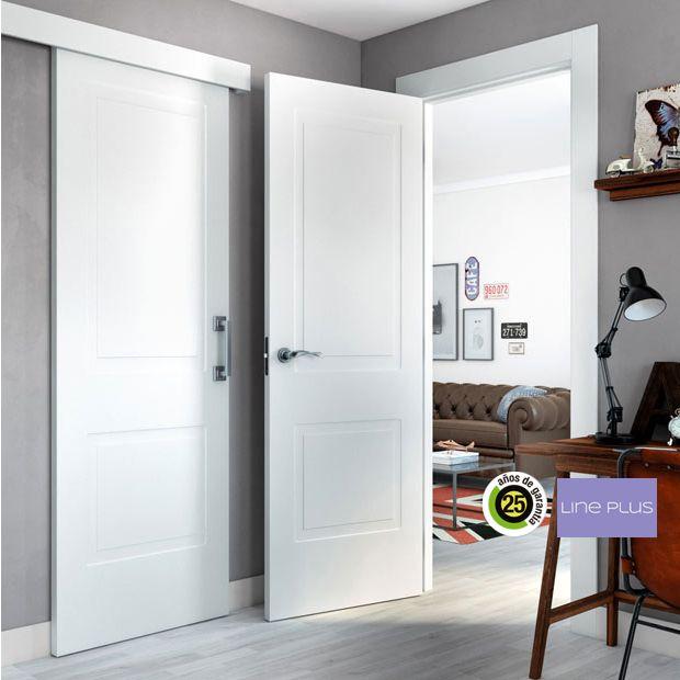 Las 25 mejores ideas sobre puertas leroy merlin en for Paredes grises y puertas blancas