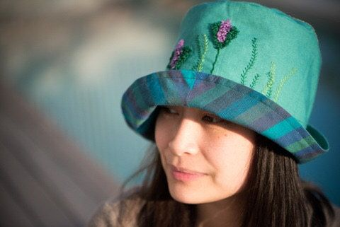 Green Hat by MaraGirone on Etsy