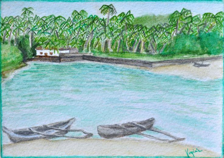 #postcard #watercolor 11x15cm