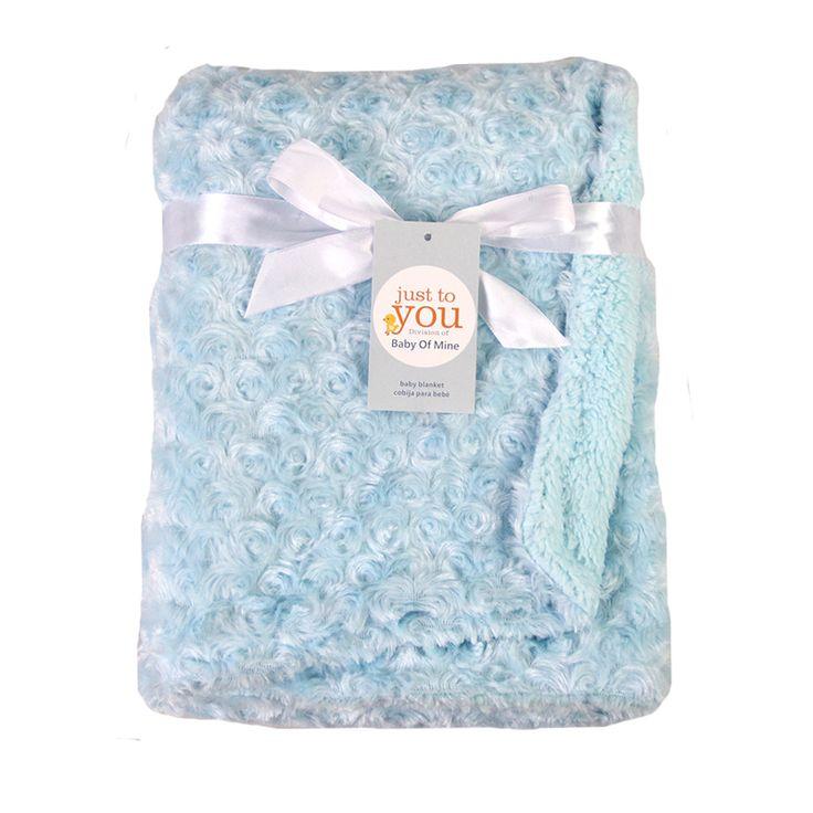Rose Wolle Decke Baby Blanket Jungen und Mädchen Korallen Kaschmir Doppel Verdickung Trolley Decke Neugeborene Abdeckung 102*76 cm GTRQ1188