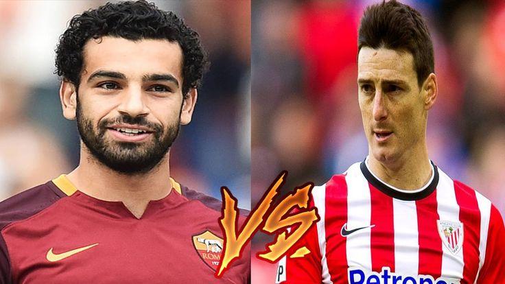 Mohamed Salah vs Aritz Aduriz #BEST #GOALS #AND #SKILLS !!!