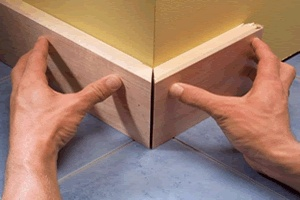 Learn how to fit skirting boards (baseboards) with the step-by-step instructions in this diy carpentry guide.