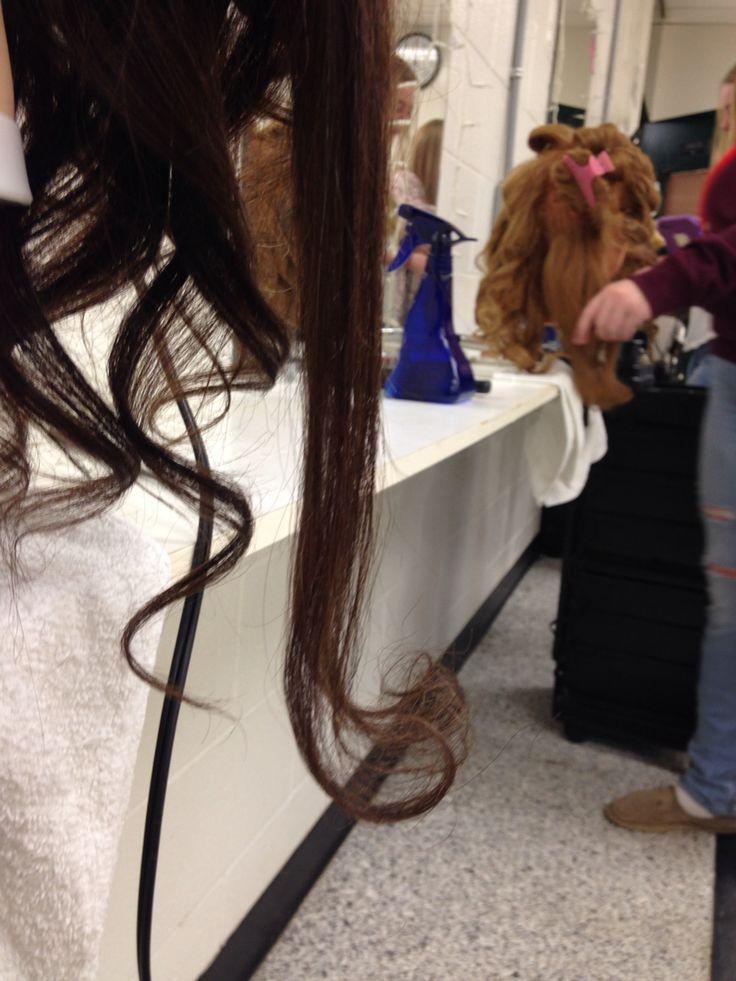 Upward curl