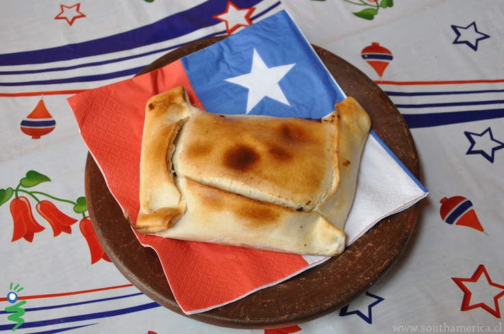 Food from Chile - Chilean Empanada - Many are eaten during the celebration of Chile's Fiestas Patrias.