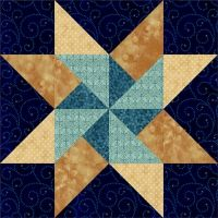 Twirling Star Quilt Block pattern $4.49 on Pam's Club at http://pamsclub.com/main-store-menu/13-e-patterns-pdf/24-blocks-for-all-occasions/3198-twirling-star