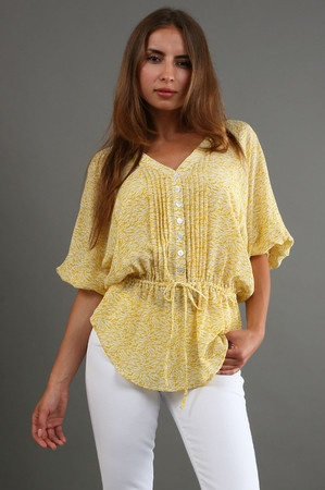 flirty pleated top  http://justshopit.com/hottest-spring-fashion-trends/