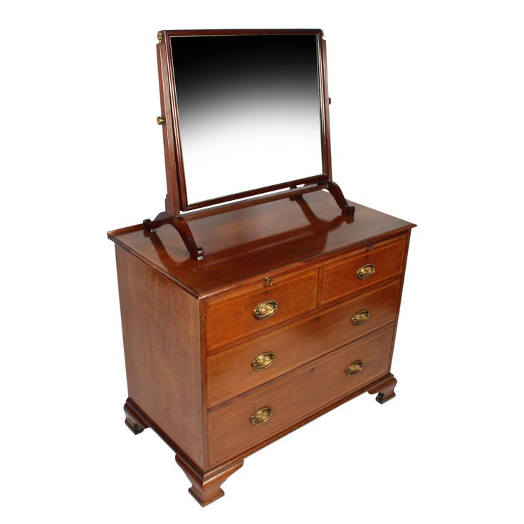 edwardian mahogany bedroom furniture. antique edwardian mahogany dressing chest of drawers with a swing mirror. buy this early century online now. bedroom furniture