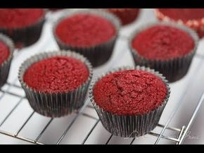 Curso de Cupcakes: Cupcakes Red Velvet o Terciopelo Rojo