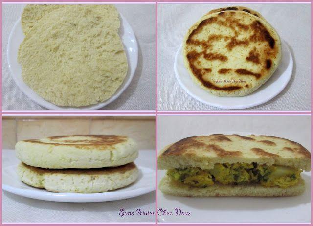Sans Gluten En Tunisie.: Pain rapide sans gluten, sans oeufs.