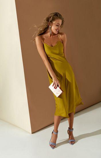 abca59bb6fb Облегающее платье-сарафан из денима в мелкий горох TOP20 Studio 1003565