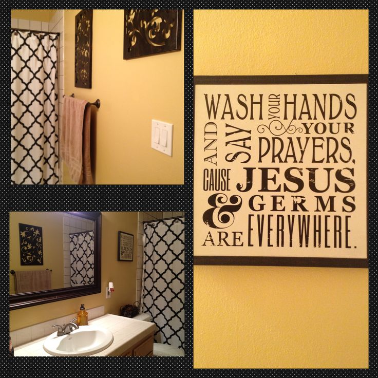 Restroom decor restroom decorations pinterest decor for Washroom decoration ideas