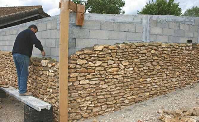 1000 id es sur le th me parement ext rieur sur pinterest - Habillage mur exterieur en pierre ...
