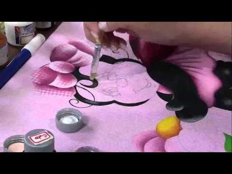 Mulher.com 16/04/2013 – Pintura em Tecido Patch Colagem 3D Eliana Rolim - Pintura em tecido - Parte 2