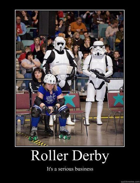 Love Roller Derby!