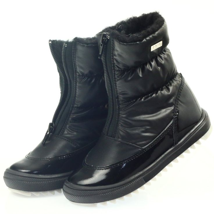 Kozaczki Z Membrana Bartek 44405 Czarne Boots Winter Boot Shoes