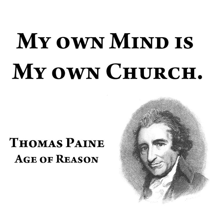 Thomas Paine Quotes: 100+ Ideas To Try About THOMAS PAINE ...AGE OF REASON