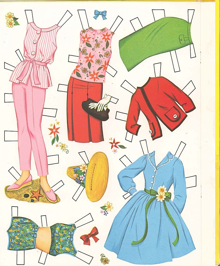 "(⑅ ॣ•͈ᴗ•͈ ॣ)♡                                                             ✄Paper Doll Hayley Mills ""The Moon-Spinners"""