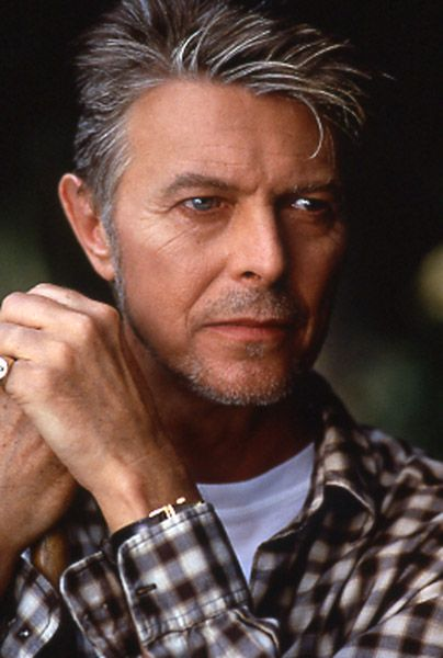 David Bowie. Looking great at 66.
