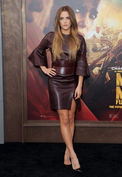 More Pics of Riley Keough Leather Dress (18 of 22) - Leather Dress Lookbook - StyleBistro