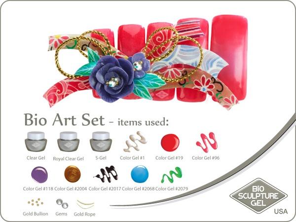 Kimono art set