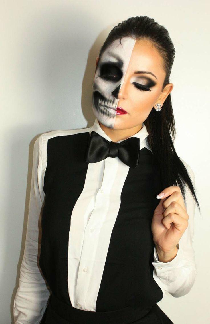 1001 + idee trucco Halloween - semplici da realizzare ...