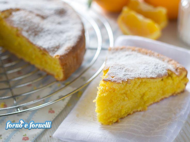Pan d'arancio, ricetta semplice, serve solo un frullatore