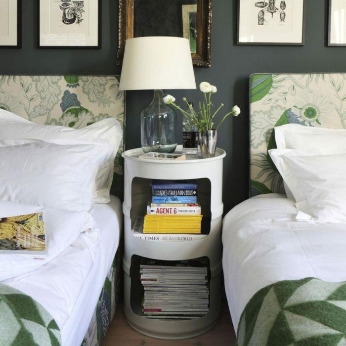 1001 Ideas De Decoración Con Cuadros Para Dormitorios Dormitorios Habitación Con Dos Camas Camas Individuales
