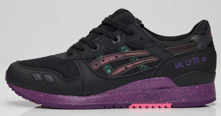 Get These Purple & Black Asics Gel-Lyte III For Just $70 While Supplies Last!