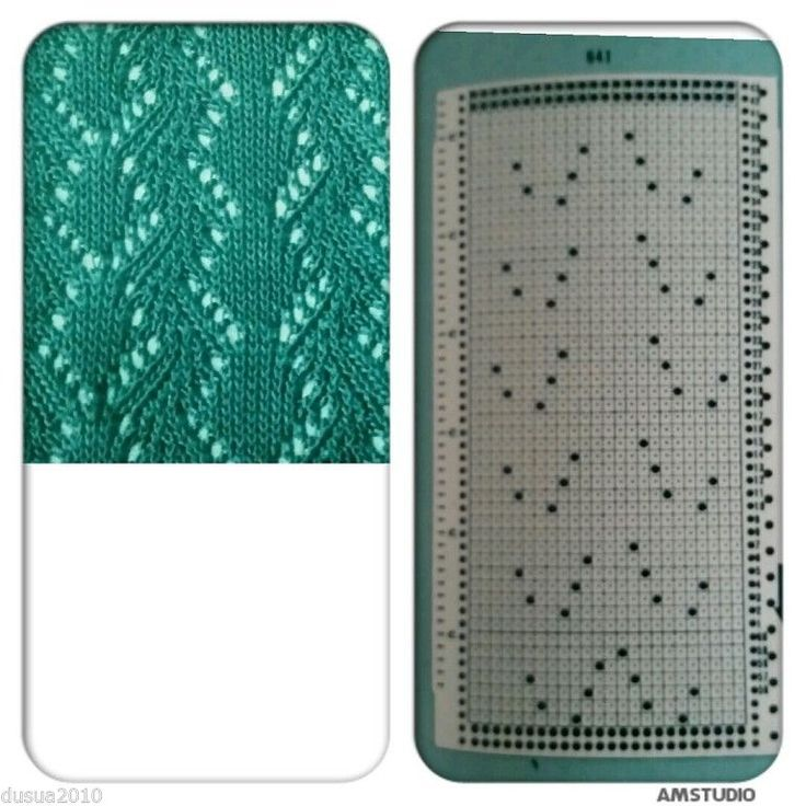 8 punch card for knitting openwork on knitting machines brother | eBay