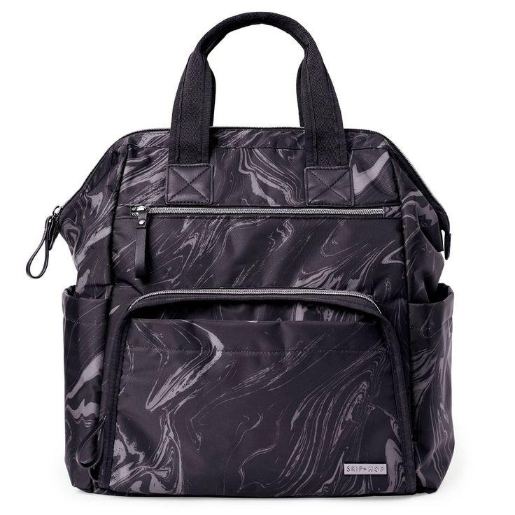 Skip Hop Mainframe Wide Open Diaper Bag Backpack