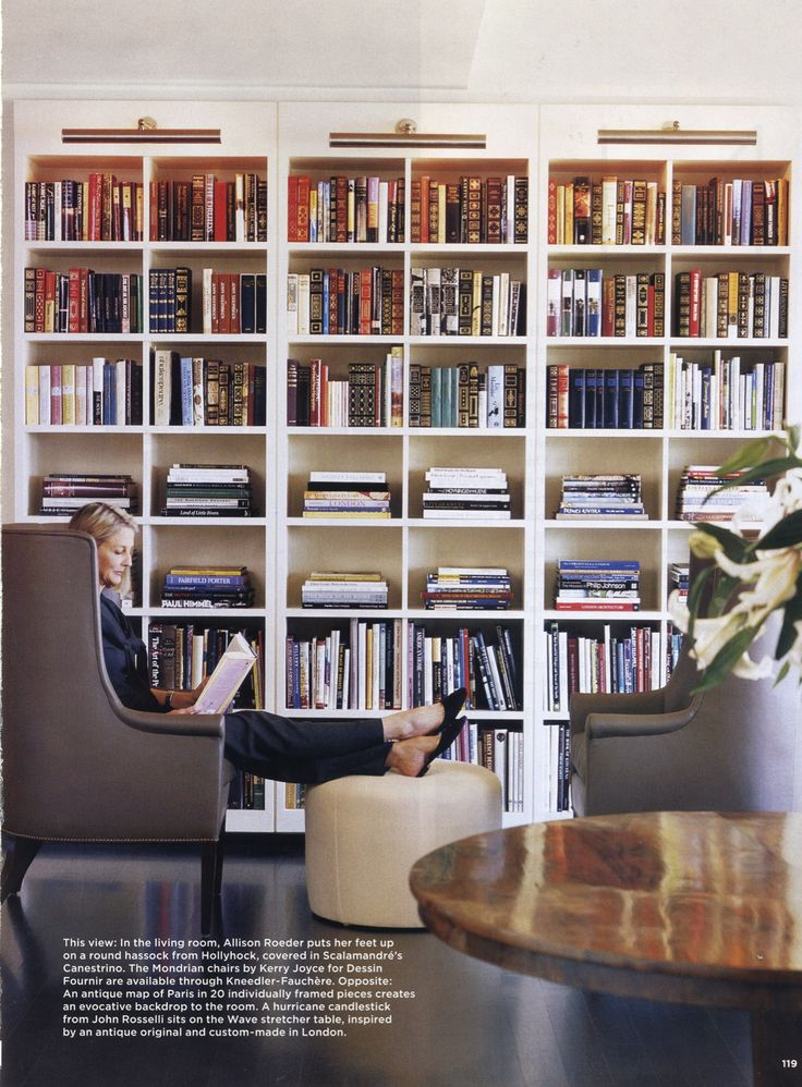Suzanne Rheinstein. Bookcase Lighting More